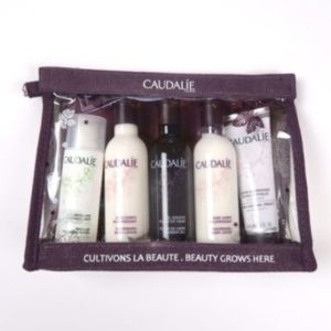 NEW Caudalie 5 Piece Fleur Body Skin Care Set